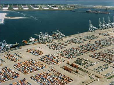 plus grand port du monde